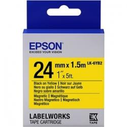 Epson LK-6YB2 Label Tape (C53S656011)