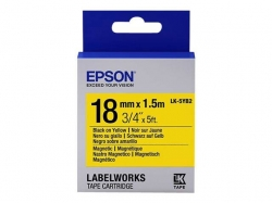Epson LK-5YB2 Label Tape  (C53S655017)