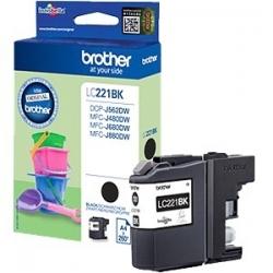 Brother LC221BK Tintapatron (43208)