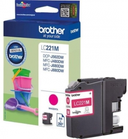 Brother LC221M Tintapatron (LC221M)