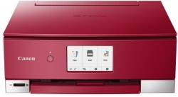 Canon Pixma TS8252 multifunkciós tintasugaras nyomtató, Wireless, A4, Vörös