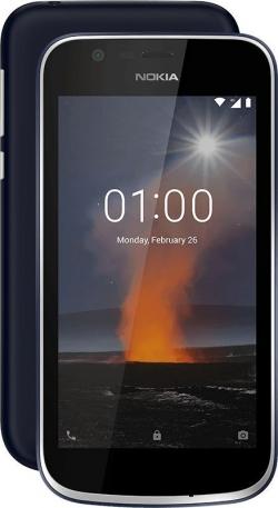 NOKIA 1 DualSim Kék (11FRTL01A03)