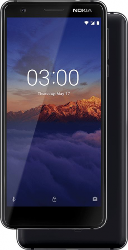 Nokia 3.1 Dual Sim Fekete (11ES2B01A15)