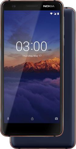 Nokia 3.1 Dual Sim Kék (11ES2L01A15)