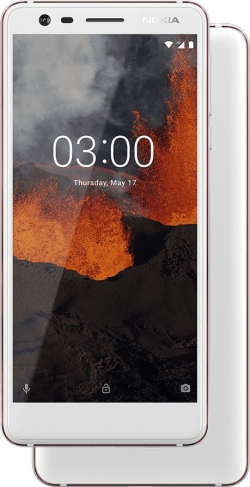 Nokia 3.1 Dual Sim Fehér (11ES2W01A15)
