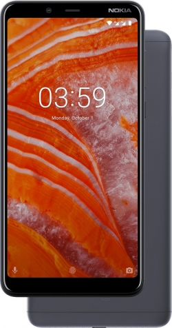 Nokia 3.1 Plus Dual Sim Szürke (11ROOD01A04)