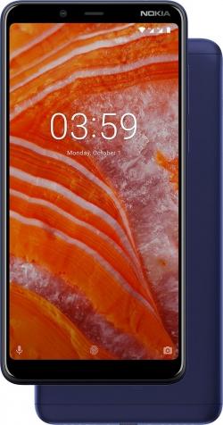 Nokia 3.1 Plus Dual Sim Kék (11ROOL01A03)
