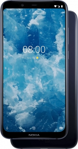 Nokia 8.1 Dual Sim 64GB Kék (11PNXL01A05)