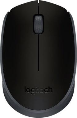 Logitech M171 Wireless optikai fekete egér (910-004424)