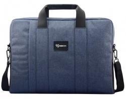 Sbox BUDAPEST NSS-35032LB 15,6'' kék notebook táska