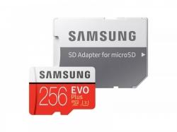 SAMSUNG EVO PLUS 256GB MICROSDHC MEMÓRIAKÁRTYA