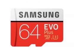 SAMSUNG EVO PLUS 64GB MICROSDXC MEMÓRIAKÁRTYA