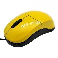 Sbox M-900Y USB optikai citromsárga egér