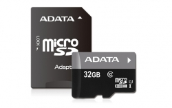 ADATA micro SDHC UHS-I 32GB Memória kártya + SDHC Adapter (AUSDH32GUICL10-RA1)