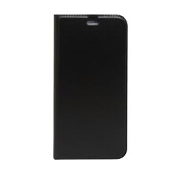 SAMSUNG GALAXY S9+ FLIP OLDALRA NYÍLÓ TOK FEKETE