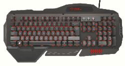 Trust GXT 850 Metal Gaming Billentyűzet (Trust_21631)