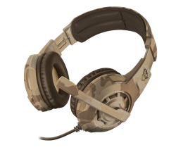 Trust GXT 310D RADIUS DESERT CAMO gamer headset (Trust_22208)