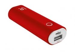 Trust Cinco  2600 Portable Charger piros-fehér PowerBank (20507)