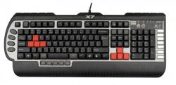 A4-Tech (X7-G800V) USB fekete HUN gamer billentyűzet