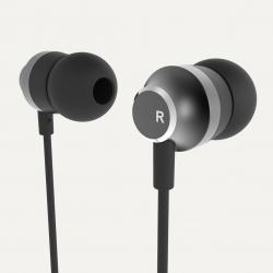 WH-201 vezetékes fülhallgató 3.5 mm jack Fekete