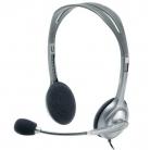 Logitech H110 mikrofonos fekete-ezüst fejhallgató ( 981-000271)