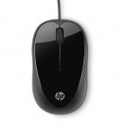 HP X1000 USB optikai fekete egér (H2C21AA)