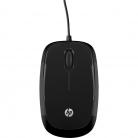 HP X1200 USB optikai fekete egér (H6E99AA)