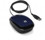 HP X1200 USB optikai fekete-kék egér (H6F00AA)