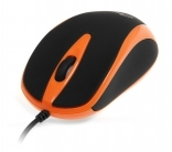 Media Tech MT1091 PLANO USB optikai fekete-narancs egér (MT1091O)