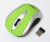 Media-Tech MT1098 PORT RF wireless optikai zöld-ezüst egér (MT1098G)