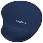 LOGILINK ID0027B zselés csuklótámaszos kék egérpad
