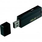 Asus USB-N13 300Mbps USB adapter fekete
