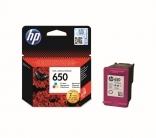 HP patron No 650 színes (CZ102AE)