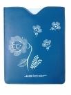 Alcor Bloom kék-fehér E-book olvasó tok