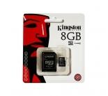 Kingston SDC4 8 GB Class 4 UHS-I MicroSDHC memóriakártya (SDC4/8GB)
