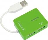 Logilink ''Smile'' USB HUB Zöld (UA0138 )