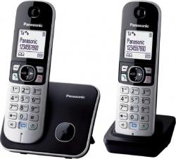 KX-TG6812PDB DUO háttérvilágításos kihangosítható dect telefon (KX-TG6812PDB)