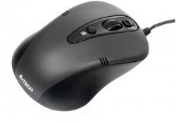 A4-Tech fekete USB egér (N-370FX-1)