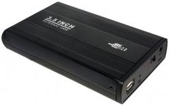 LOGILINK 3,5'' KÜLSŐ IDE HDD HÁZ (FEKETE) - USB 2.0 (UA0066)
