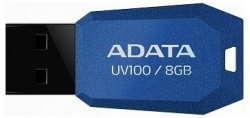 ADATA UV100 8GB Pendrive Kék (AUV100-8G-RBL)