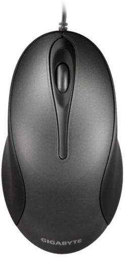 GIGABYTE M5100 USB optikai fekete egér  (GM-M5100-BBR)
