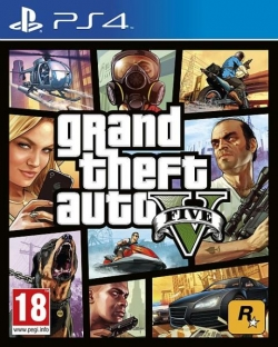Grand Theft Auto V PS4 Játék (2802430)