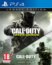 Call of Duty Infinite Warfare Legacy Edition + Call of Duty MW Remastered PS4 (2803427)