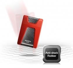 Adata HD650 külső merevlemez 1TB Piros (AHD650-1TU3-CRD)