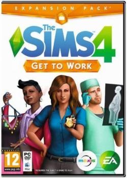 The SIMS 4 Get to Work PC játékszoftver (1013861)