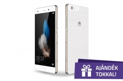 Huawei P8 Alice Lite Fehér Dual Sim Okostelefon (51098481)