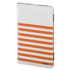 Hama Univerzális Tablet Tok 7''-8'' Fehér-Narancs (135559)