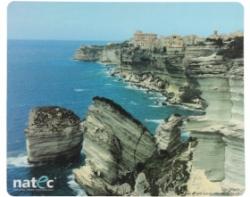 Natec NPF-0387 Korzika látkép mintás egérpad