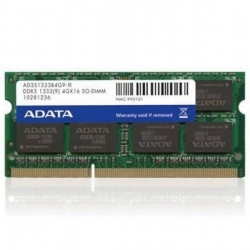 ADATA DDR3 4GB 1333MHz CL9 SODIMM 1.5V (AD3S1333W4G9-R/S)