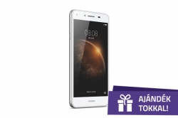 Huawei Y6 II LTE Dual Sim Fehér Okostelefon (51090PGX)